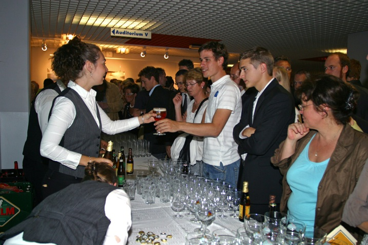Reception After The Graduation Ceremony