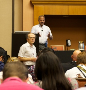 Milind Bhandarkar and Gregory Piatetsky at KDD-2013